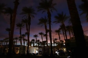 Palm Springs night
